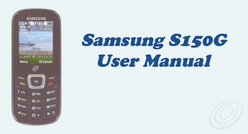 Tracfone Samsung SGH-S150G User Manual Guide