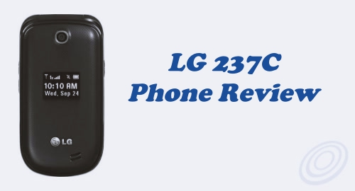 Tracfone LG 237C Flip Phone Review