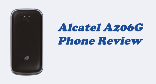Tracfone Alcatel A206G Flip Phone Review