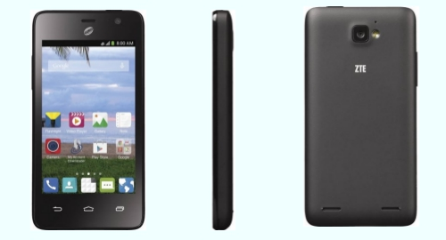 Tracfone ZTE Paragon front back side