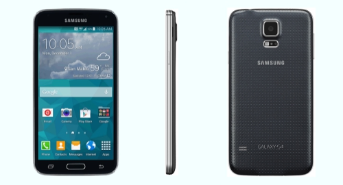Tracfone Samsung Galaxy S5 S902L front back side