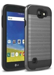 LG Rebel Hybrid Dual Layer Slim Case by Kaesar