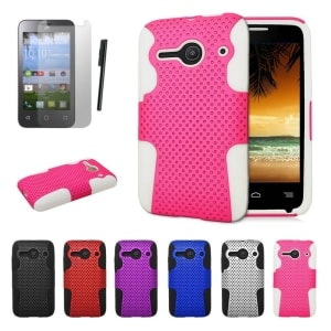 Alcatel Pixi Pulsar Slim Fit Hybrid Case by JoJoGoldstar