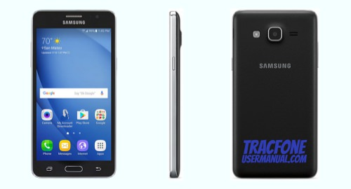TracFone Samsung Galaxy On5 S550TL front side back