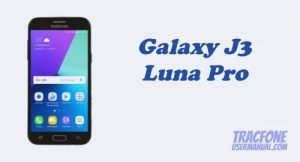 TracFone Samsung Galaxy J3 Luna Pro S327VL User Manual