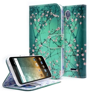 ZTE ZFive 2 Flip Wallet Case by NageBee
