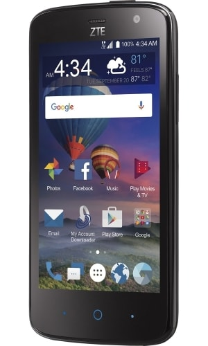 ZTE Majesty Pro Plus Front View 2