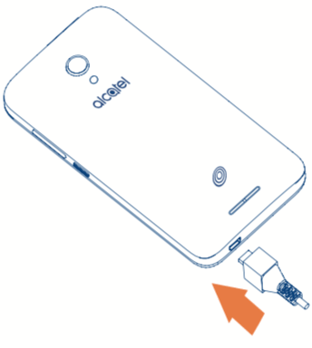 How to Charge the Alcatel Phone Battery