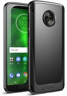 Moto G6 Carbon Shield Case by Poetic