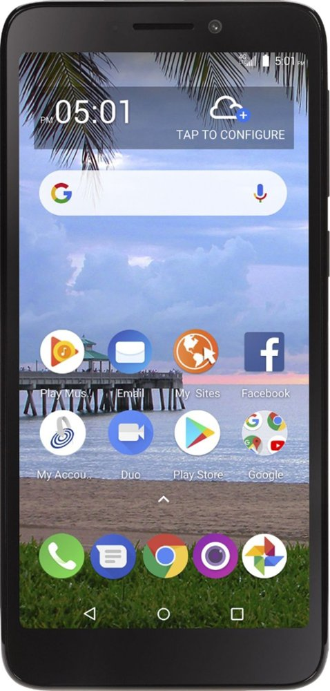 Alcatel TCL A1 Front View