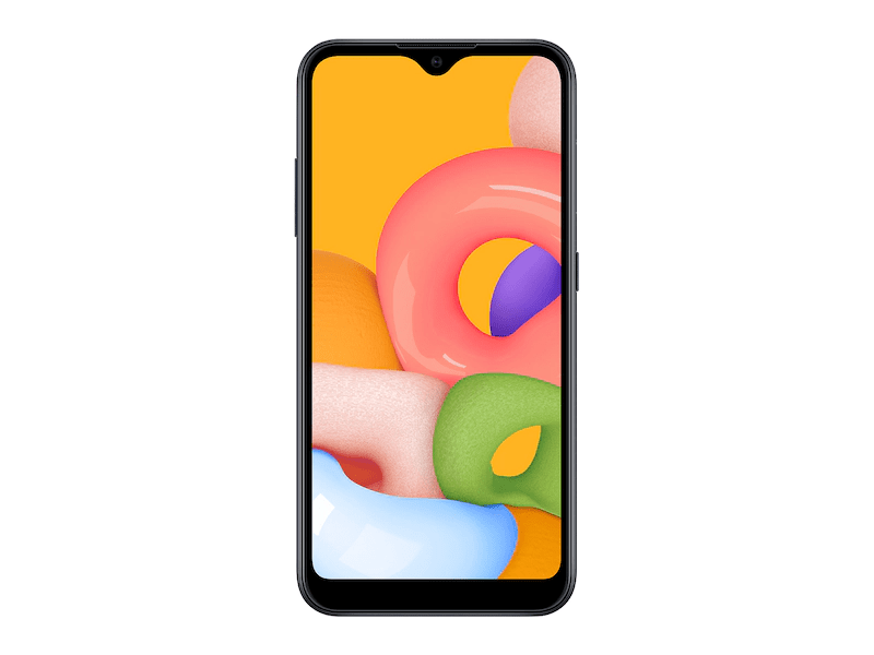 Samsung Galaxy A01 Front View