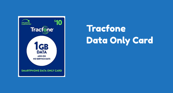 Tracfone Data Only Card
